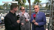 Ash vs Evil Dead: Lee Majors on Playing Ashs Dad Comic Con 2016