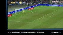 Le Français de l'Inter Milan Geoffrey Kondogbia inscrit un improbable CSC (vidéo)