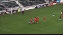 Penalty Goal Baglarishvili Flora Tallinn 1-0 Narva Trans