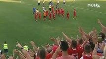 FK Mladost DK - FK Željezničar 2:1 / Slavlje igrača i navijača Mladosti