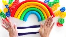 и в  в и к  Искусство Книга Цвет Творческий Творческий тесто для весело как Дети Дети ... сделать играть играть-DOH Радуга Кому в Это rainb