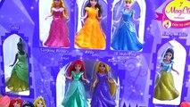 Vestidos moda jugar princesa Disney DOH magiclip princesa Disney creó los vestidos de bola