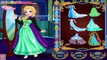 De la glace reine temps voyager Egypte gelé reine des jeux pour enfants