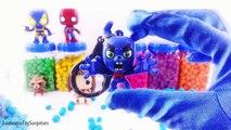 Les couleurs des bandes dessinées Apprendre merveille jouet Dc playdoh dippin dots funko pop surprises