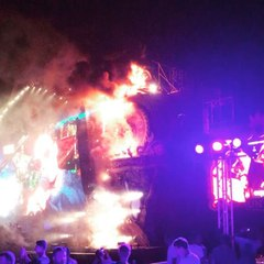 Tomorrowland Stage Burns As 22,000 Evacuated From Music Festival