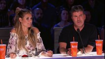 Junior & Emily- Sibling Duo Breaks It Down To Chainsmokers Remix - America's Got Talent 2017