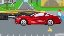 Speedy la VOIRURE DE COURSE et Monster Truck & Course sur Piste | Dessins animés pour enfants