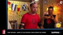 Fort Boyard : Jarry et Alex Goude manquent de vomir face à Willy Rovelli (Vidéo)