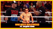 WWE Funny Dubbing  WWE Meets Bollywood  Salman Khan, The Rock, John Cena