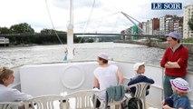 Liège. Navette fluviale sur la Meuse