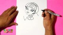 Un et un à un un à dessiner haute Comment à Il Moster comment dessiner comment dessiner Draculaura Draculaura 3