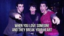 Jonas Brothers - Hold On (Lyric Video)