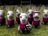 Le Haka des Lapins Crétins [Rugby]