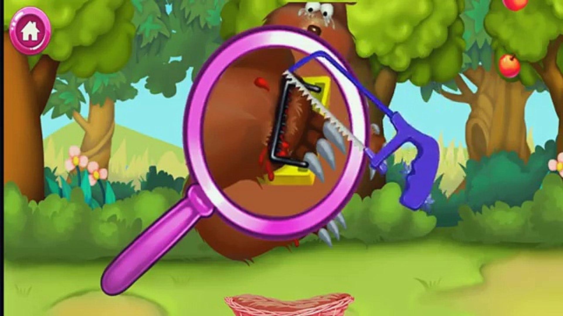 Джунгли доктор Приключение андроид Игры программы обучение с животные доктор игра
