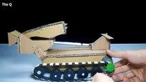 RC Bridge Tank DIY - Military Vehicles, Bridge Layer Tank Remote Control from Cardboard
