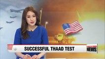 U.S. military conducts successful THAAD test amid North Korea tensions