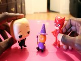 SPINOSITA MAKES NEW FRIENDS OWLETTE BOSS BABY CANDY WITCH SPINOSITA GLIMMIES PEPPA PIG Toys BABY, PJ MASKS , DREAMWORKS