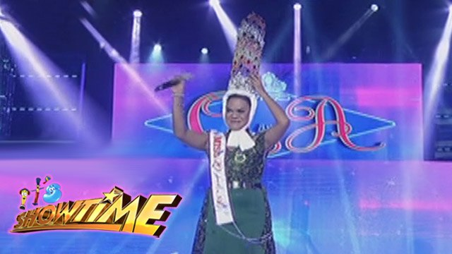 It's Showtime Miss Q & A: Juliana Parizcova Segovia wins her 9th crown