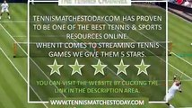 Stefan Kozlov vs Yuki Bhambri Live Tennis Stream - ATP Washington D.C - Citi Open - 21:00 UK - 31st July