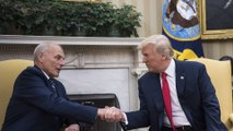 Trump says White House has 'tremendous' support and 'fantastic leader' in Kelly
