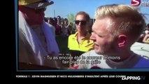 Grand Prix de Hongrie : deux pilotes de Formule 1 s'insultent face caméra