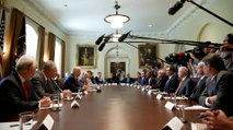 Trump holds Cabinet meeting with new chief of staff