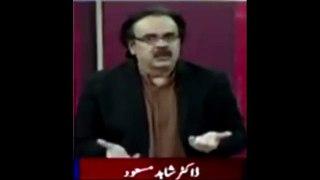Nehal Hashmi or khawaja saad PTI main ja rha th Dr Shahid Masood