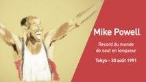 Athlé - Les grands moments : Powell et le record du monde du saut en longueur