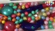 Apprendre les couleurs pour enfants eau des ballons homme araignée doigt la famille chanson garderie rimes chanson