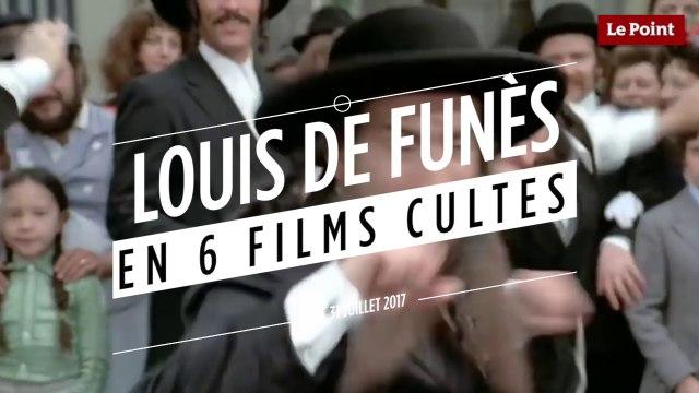 Louis de Funès en 6 films cultes