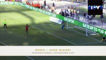 Roma - Juventus 1-1 (4-5 d.c.r.) all Goals & highlights International Champions Cup Calci di rigore
