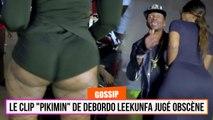 """Le clip """"PIKIMIN"""" de Debordo Leekunfa jugé Obscène"""