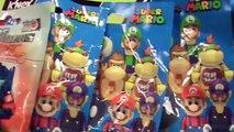 Dix des œufs drôle petit ouverture jouets surprise, super mario bros figurine Super Mario Bros.