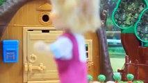 Vie pâte à modeler la télé et de Masha Medved plasticine Play-Doh gâteau cuire Igrushkin
