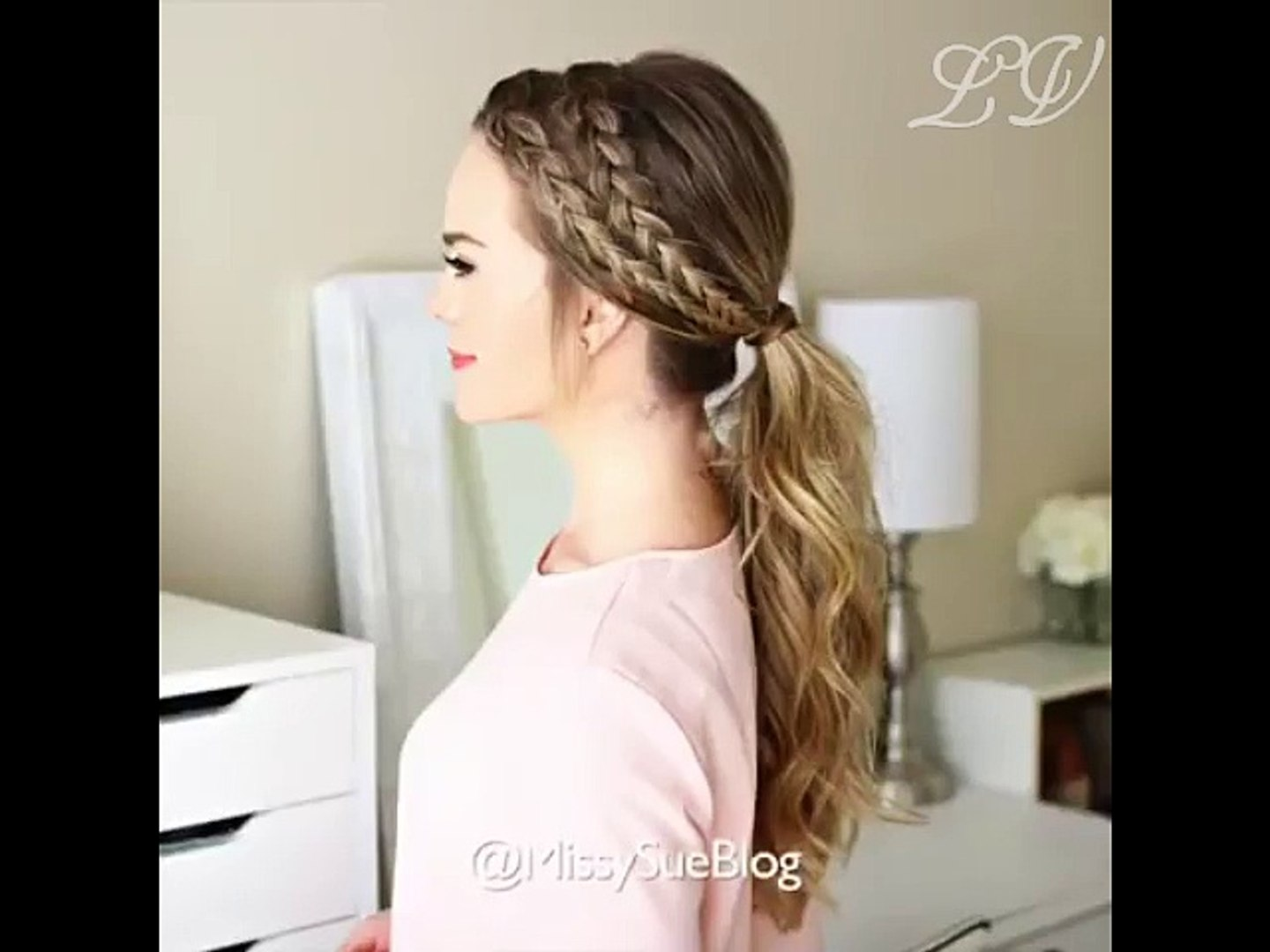 Hair Style , How to tie Hair ?