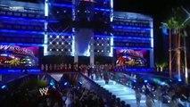 Randy Orton vs John Cena vs Triple H Triple Threat Match for WWE Championship Wrestlemania 24