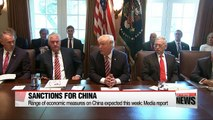 Washington mulling on financial penalties on Beijing as it says 'time for talks with N. Korea is over'