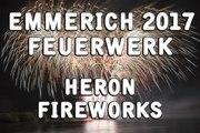 Feuerwerk - Emmerich im Lichterglanz 2017 - Heron Fireworks - 10 Jahre Rheinpromenade