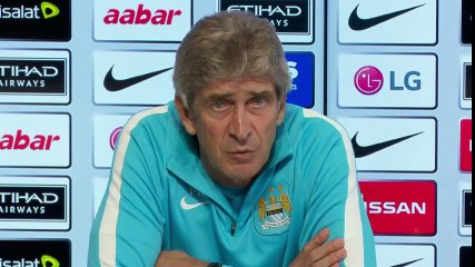 Man City boss Manuel Pellegrini - Records not as important as results