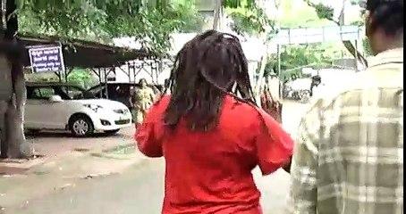 Nigerian woman goes berserk in Bangalore, restrained by cops