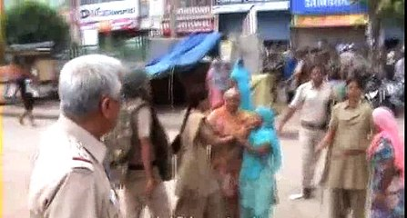 Female police constables treat Indian women badly