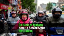 On Heels of Typhoon Nesat, a Second Storm Hits Taiwan
