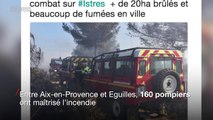 Istres, Cabris, Aix: nouveaux incendies dans le Sud