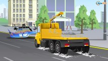 The Tow Truck's Car Service in the City | Cars Kids Animation | Trucks cartoons