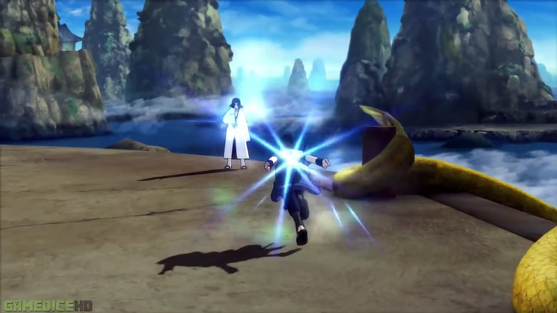 Asura Naruto Vs Itachi Kaguya Otsutsuki - NARUTO SHIPPUDEN Ultimate Ninja STORM 3