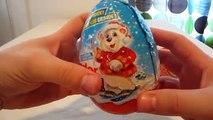Noël Oeuf des œufs géant énorme géant Nouveau ouverture fête Kinder surprise 2 kinder surprise