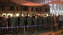 Şehit Jandarma Uzman Çavuş Sakal'ın Naaşı Memleketi Sivas'a Getirildi