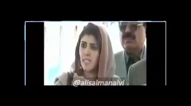 Ayesha Gulalai defending Imran Khan when Javed Latif personally attacked him.