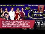 Natalia Sosa y Bobby Pulido presentan el musical 'Amor Eterno'