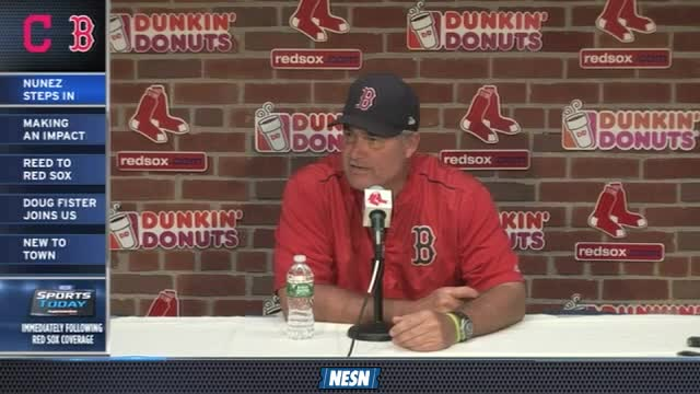 Red Sox First Pitch: John Farrell Gives Update On Dustin Pedroia